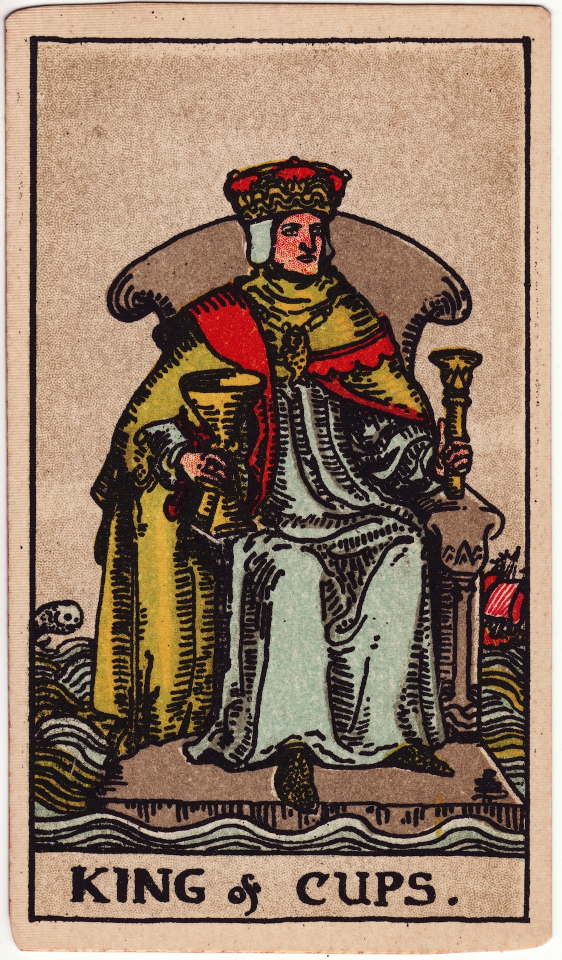 King of Cups, by Pamela Colman Smith